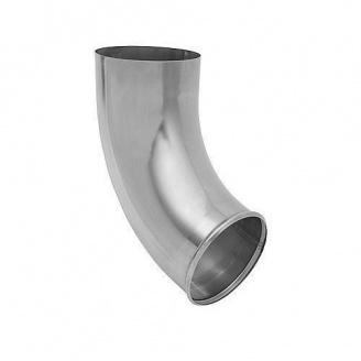 Отвод трубы АКВАСИСТЕМ 100 мм из цинк-титана