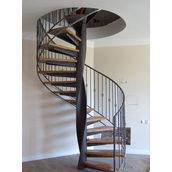 Винтовая лестница кованая