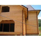 Будівництво дерев'яного котеджу