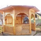 Будівництво дерев'яної альтанки