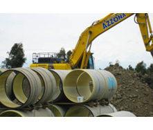 Труба стеклопластиковая для водопроводных сетей ф750 мм