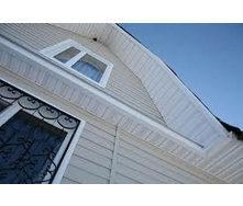 Соффит для подшивки крыши белый