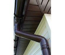 Водосточная система Profil 90/75 коричневая