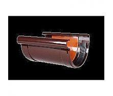 Соединитель желоба с прокладкой Profil 130/100 коричневый