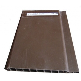 Вагонка морозостойкая 10х100х6000 мм коричневая