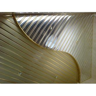 Металлический потолок для ванной