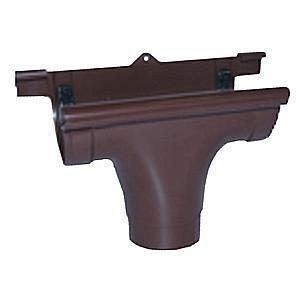 Ливнеприемник проходной Profil 130/100 коричневый