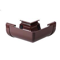 Угол наружный Z 90 градусов Profil 130/100 коричневый