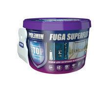 Эластичная смесь для швов Polimin Fuga superflex 2 кг оранжевая