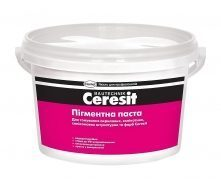 Пигментная паста Ceresit 2 л желтая 03 (C1) (949611)
