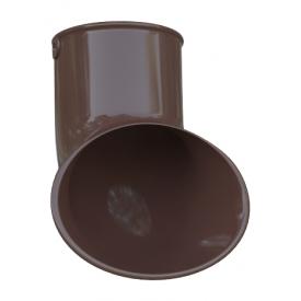 Злив труби Альта-Профіль Еліт 95 мм коричневий