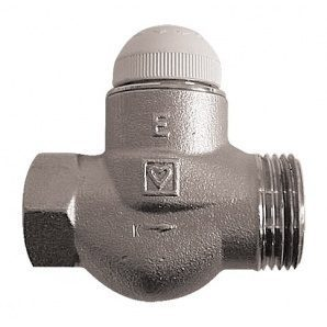 Термостатический клапан HERZ TS-E проходной Rp 1xG 1 (1772372)