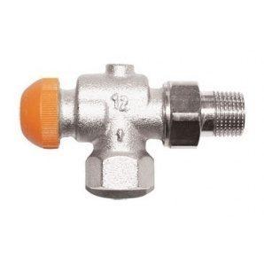 Термостатичний клапан HERZ TS-98-V кутовий універсальний 3/8 дюйма (1762865)