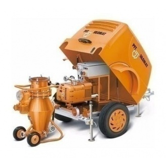 Пневмотранспортная установка Knauf PFT Silomat C 100 20 л/мин