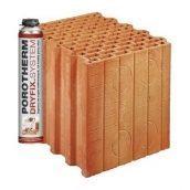 Керамический блок Porotherm PTH 38 P+W Dryfix 380x248x249 мм