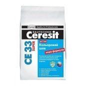 Затирка для швов Ceresit CE 33 PLUS100 2 кг антрацит