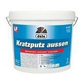 Штукатурка Dufa Kratzputz aussen D227 25 кг белый