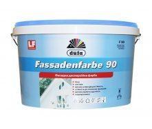 Краска Dufa Fassadenfarbe F90 10 л белый