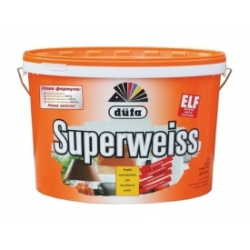 Краска Dufa Superweiss D4 10 л белый