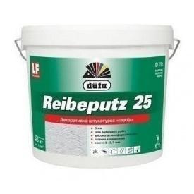 Штукатурка Dufa Reibeputz 25 D11c 25 кг белый
