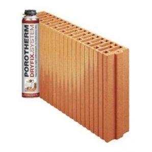 Керамічний блок Porotherm 8 Dryfix 80x498x249 мм