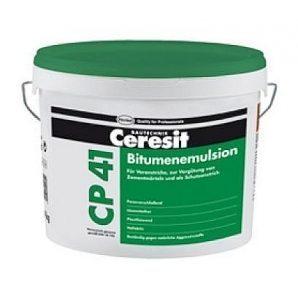 Битумная гидроизоляционная эмульсия Ceresit CP 41 10 кг