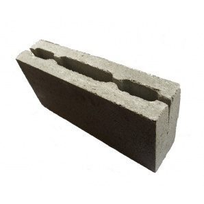 Бетонный блок Ореол-1 перегородочный 390x90x188 мм