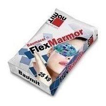 Смесь Baumit FlexMarmor 25 кг белый