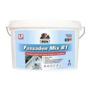 Краска Dufa Fassaden Mix B1 10 л белый