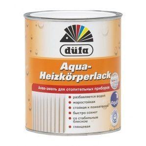 Эмаль Dufa Aqua-Heizkоrperlack 0,75 л белый