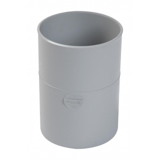 Муфта ринви труби Nicoll 33 сірий