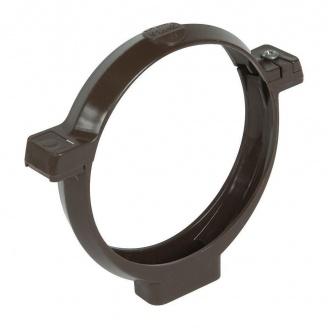 Кронштейн труби Nicoll 33 коричневий