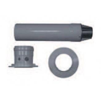 Коаксиальный горизонтальный дымоход Bosch AZ 395 365 мм