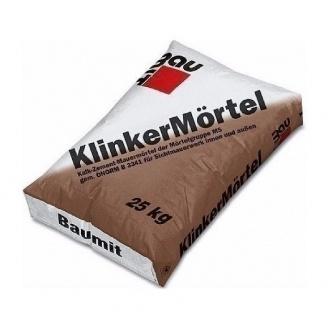 Розчин Baumit KlinkerMоrtel 25 кг schwarz