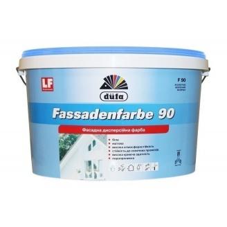 Краска Dufa Fassadenfarbe F90 5 л белый