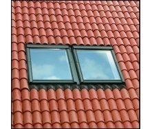 Комбінований комір VELUX PREMIUM EKS 0021 СК04 для мансардних вікон 55х98 см