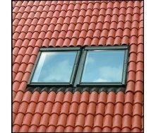 Комбінований комір VELUX PREMIUM EKW 0021 СК04 для мансардних вікон 55х98 см