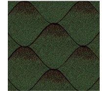 Бітумна черепиця Kerabit S Хвиля зелено-чорна