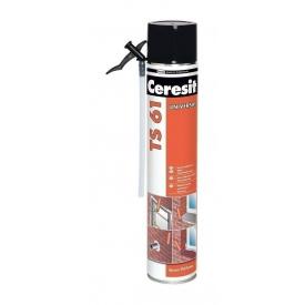 Пена монтажная Ceresit TS 61 Стандарт 750 мл