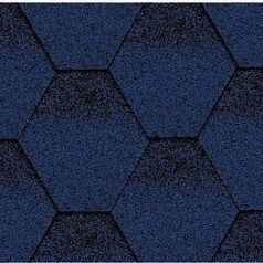 Битумная черепица Kerabit K Тройка синяя