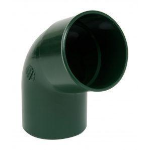 Отвод одномуфтовый Nicoll 67° зеленый