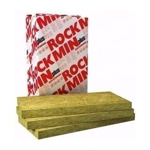 Плита з кам'яної вати ROCKWOOL ROCKMIN PLUS 1000x600x120 мм