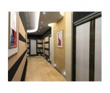 Монтаж подвесного потолка в коридоре