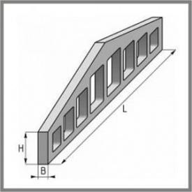 Двускатная балка 2БДР12-5АIIIВТ серия 1.462.1-3.80 в.1