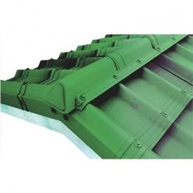Гребінь модельний сбірний фінішний Onduvilla 1060x164 мм зелений 3D