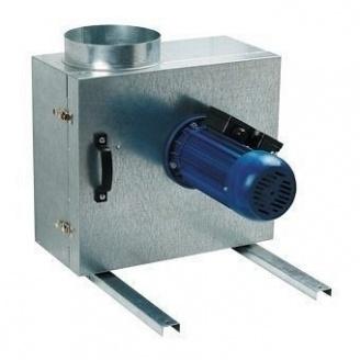 Центробежный кухонный вентилятор VENTS КСК 150 4Е в шумоизолированном корпусе 700 м3/ч 180 Вт