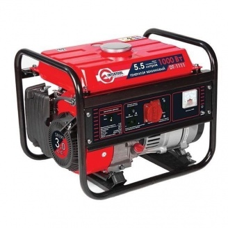 Генератор бензиновый Intertool 1100 Вт (DT-1111)