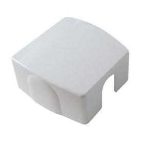 Декоративная крышка HERZ белая (RAL 9010) (1011021)