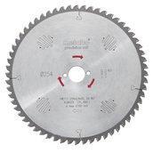 Диск циркулярный METABO HW/CT 254x30 60 WZ5 254х30 мм (628222000)