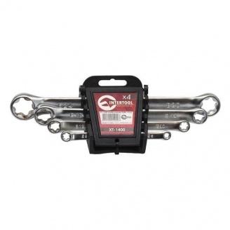 Набор накидных ключей Intertool TORX 4 элемента 6-24 мм (XT-1400)
